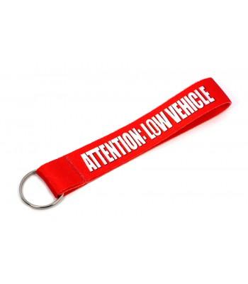 Attention: Low Vehicle Hihna Avaimenperä