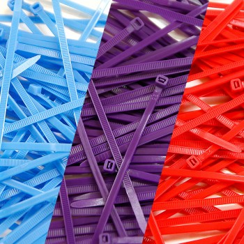 Pack of 300 Cable Ties -...