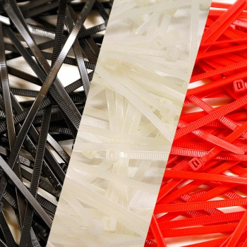 Pack of 300 Cable Ties - 3...