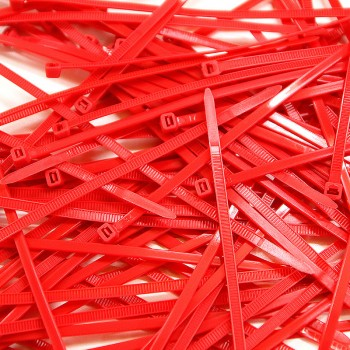 Cable Ties 100 pcs - Red