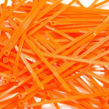 Cable Ties 100 pcs - Orange